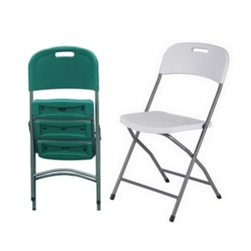 2 x Palm Springs Deluxe Folding Chairs - Green