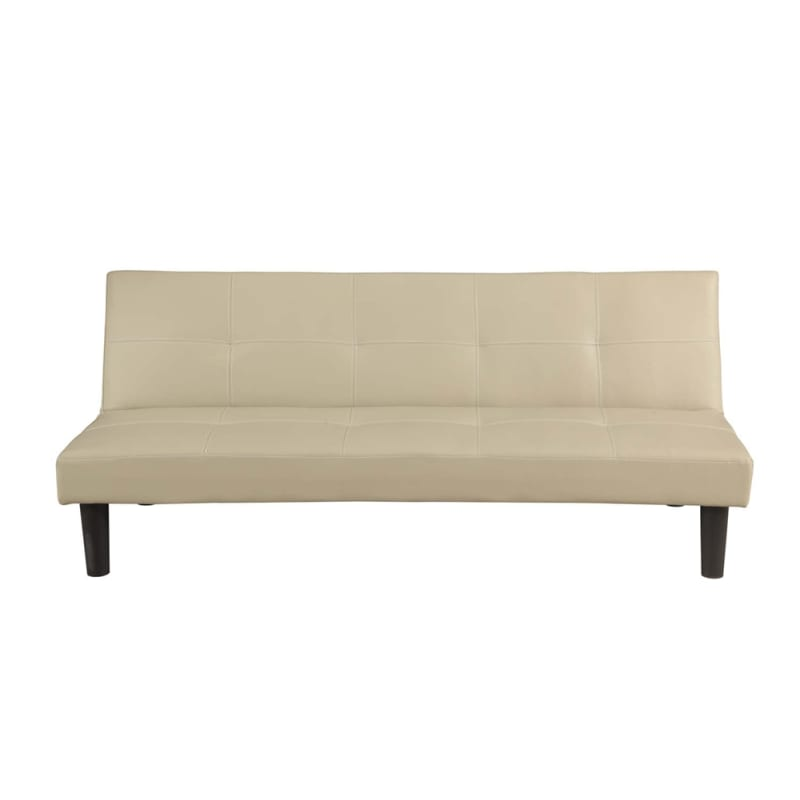 Homegear Faux Leather Sofa Bed Cream Just 163 89 99