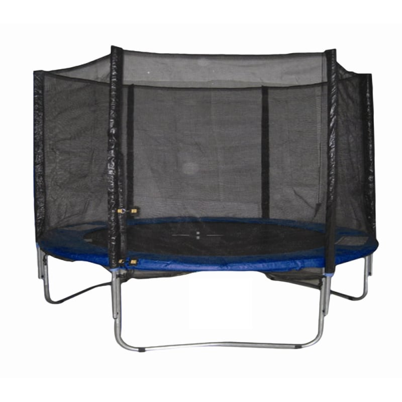 Woodworm 8FT Trampoline - Safety Net / Ladder / Cover