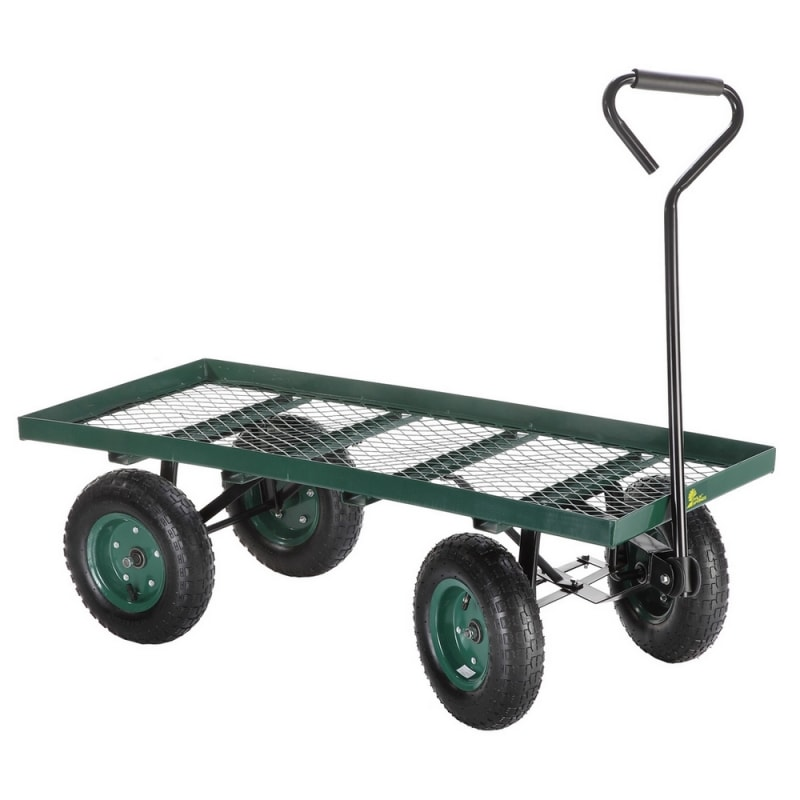 Ex-Demo Palm Springs Flatbed Garden Trolley / Wheelbarrow