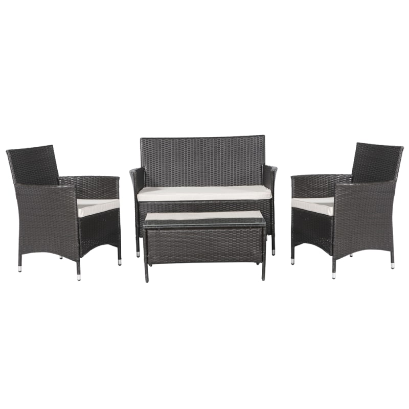 Palm Springs All Seasons Rattan Garden Set