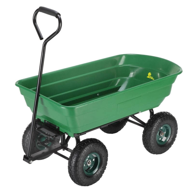 Palm Springs Garden Tipping Trolley / Wheelbarrow