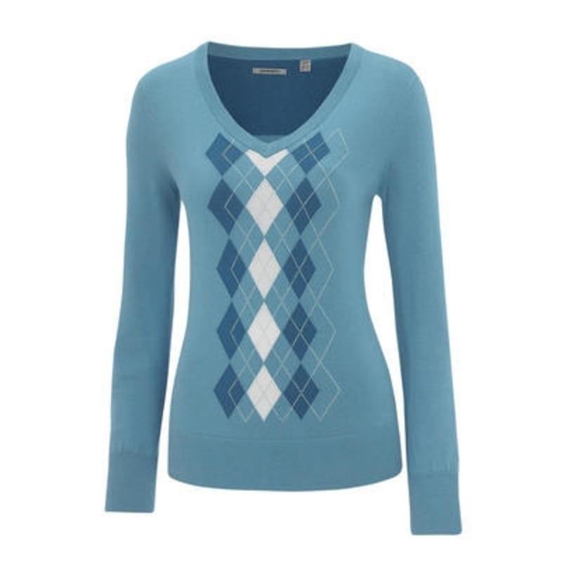 Ashworth Ladies Argyle Sweater