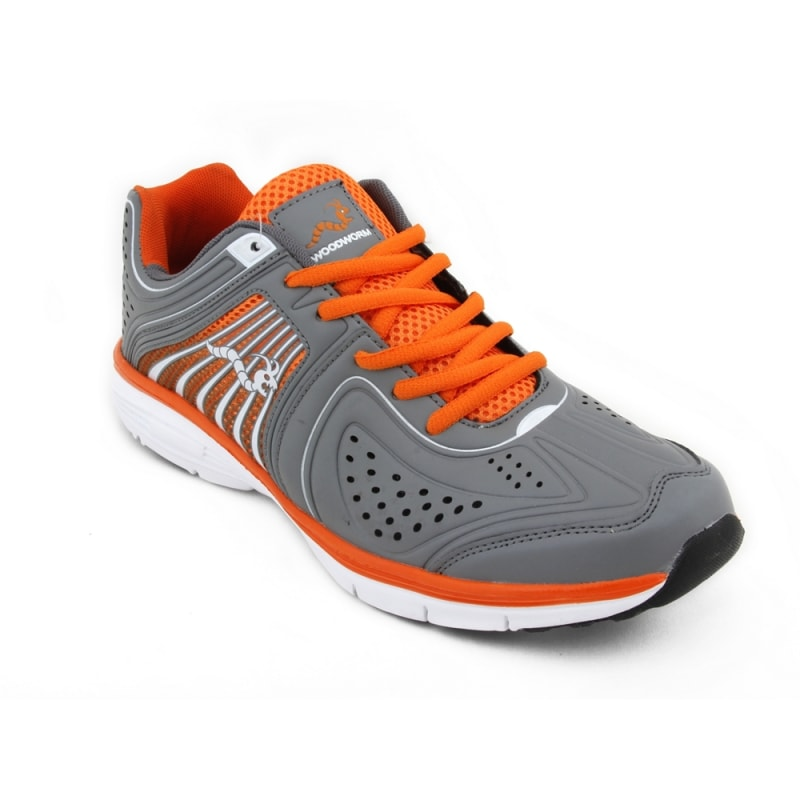 really comfortable cheap for discount sneakers Woodworm Flame Mens Running Shoes / Trainers - Grey - Woodworm ...