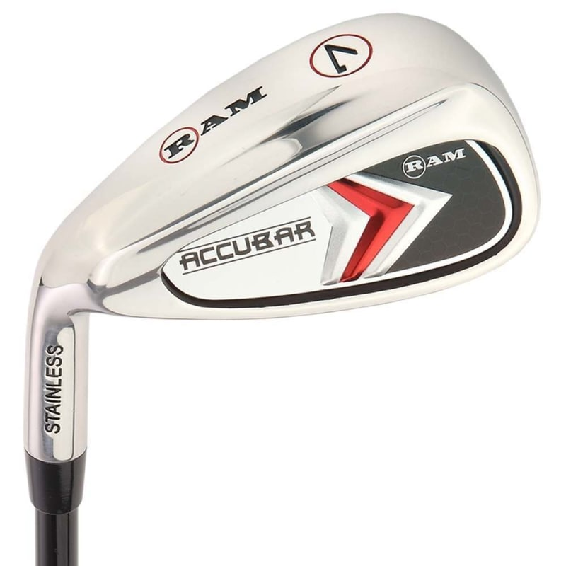 Ram Golf Accubar Mens Clubs All Graphite Iron Set 6-7-8-9-PW with Hybrids 24° and 27° - Lefty #1