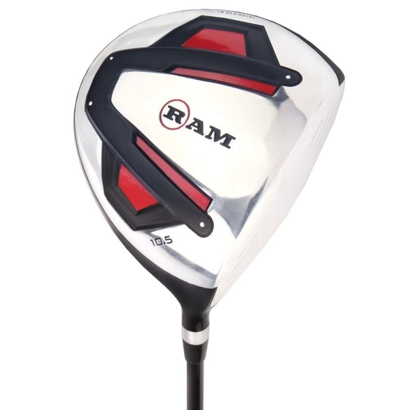 Ram Golf Accubar 1 Inch Longer Golf Clubs Set - Graphite Shafted Woods, Steel Shafted Irons - Mens Right Hand #1