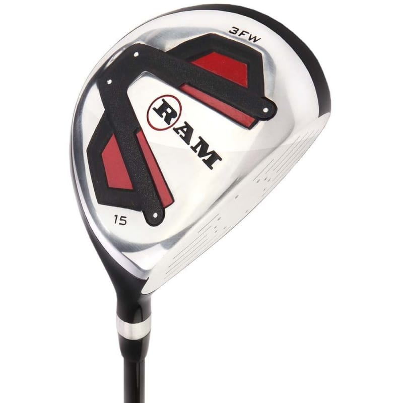 Ram Golf Accubar 1 Inch Longer Golf Clubs Set - Graphite Shafted Woods, Steel Shafted Irons - Mens Right Hand #2