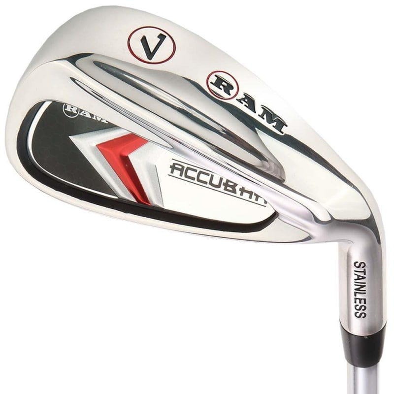 Ram Golf Accubar Mens Clubs All Graphite Iron Set 6-7-8-9-PW with Hybrids 24° and 27° #1