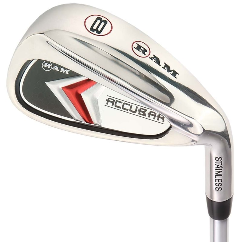Ram Golf Accubar Mens Clubs All Graphite Iron Set 6-7-8-9-PW with Hybrids 24° and 27° #2