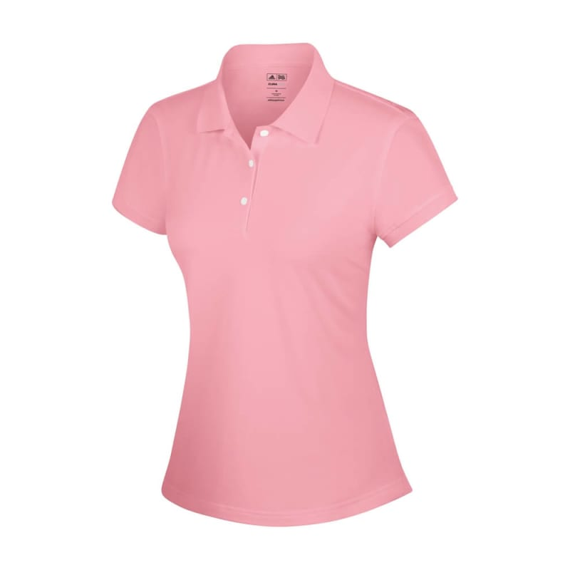 Adidas ClimaLite Ladies Solid Polo