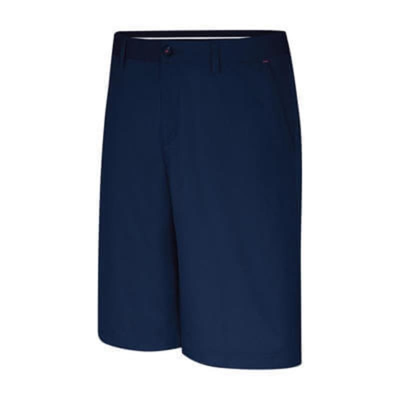 Adidas ClimaLite Mens Pinstripe Short Navy