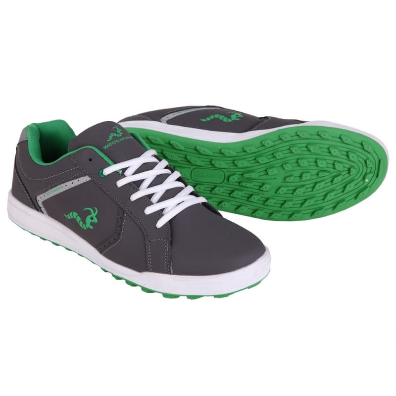 Woodworm Surge V2.0 Golf Shoes - Grey / Green