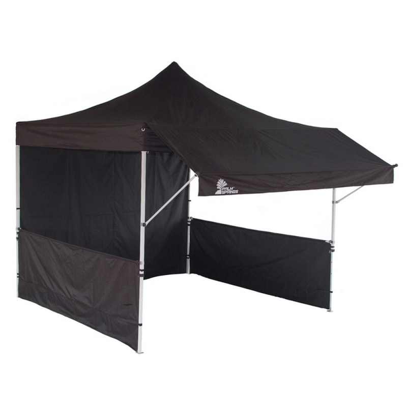 Palm Springs Pop Up Farmers Market Stall Tent - Black