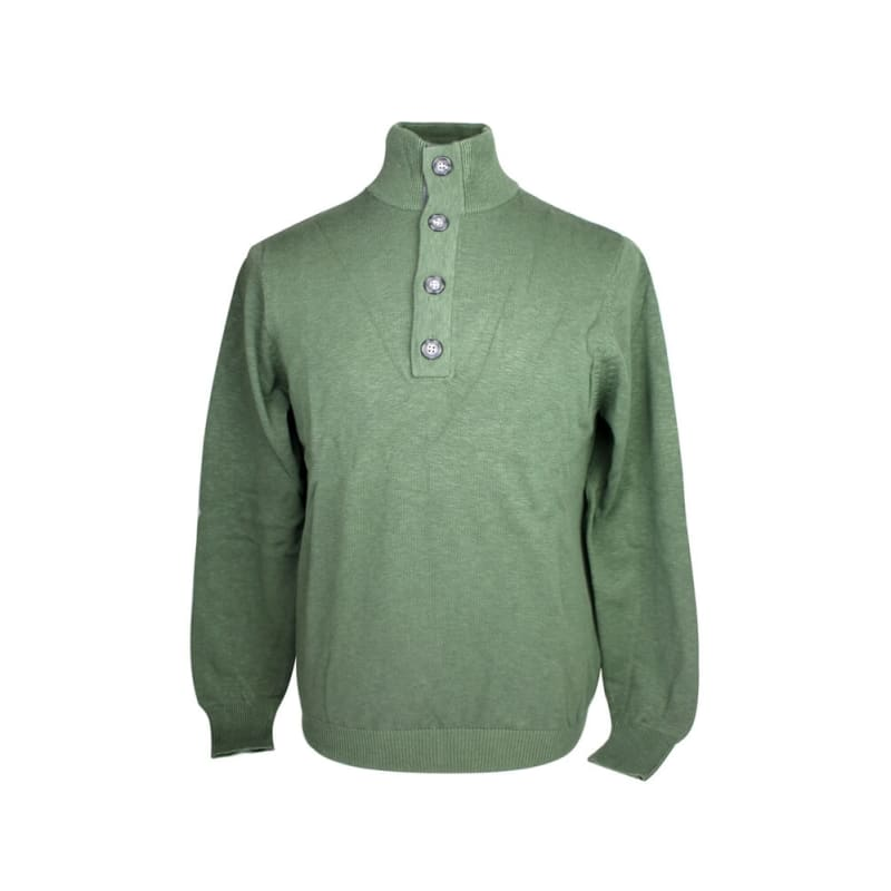 Ashworth Mens Half-Button Sweater