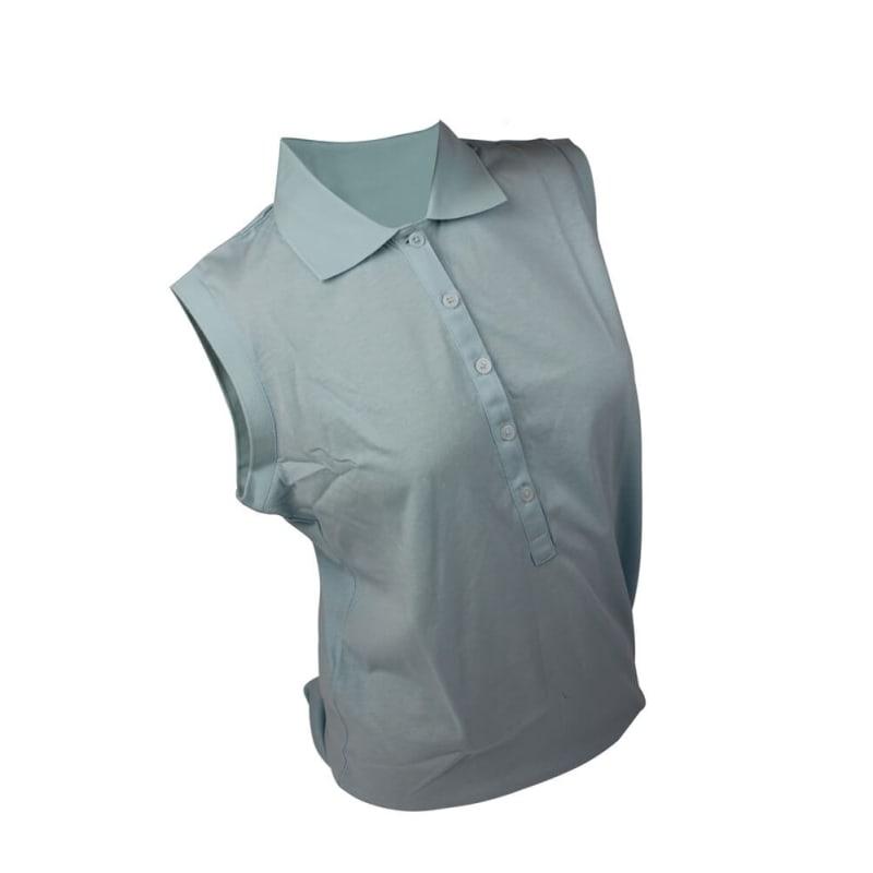 Ashworth Ladies Sleeveless Polo Shirt
