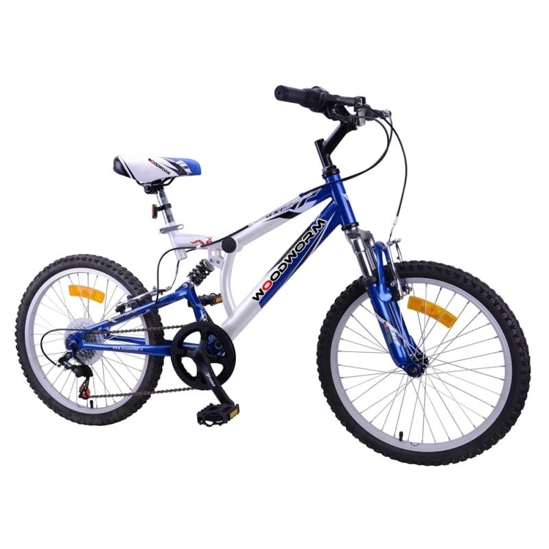 """Ex-Demo Woodworm Kids BXI Junior 20"""" Mountain Bike Blue"""