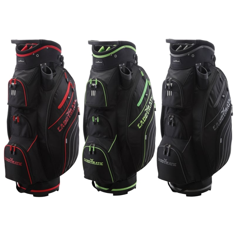 Caddymatic Golf Deluxe 14-Way Trolley Bag