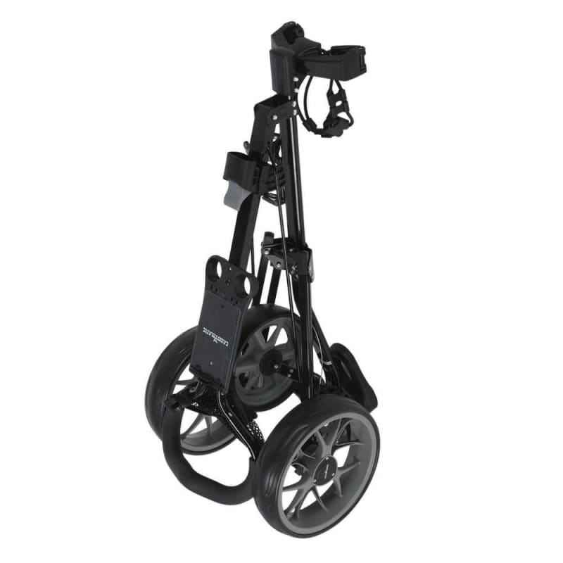 OPEN BOX Caddymatic Golf Pro Lite 3 Wheel Golf Cart Black/Grey #1