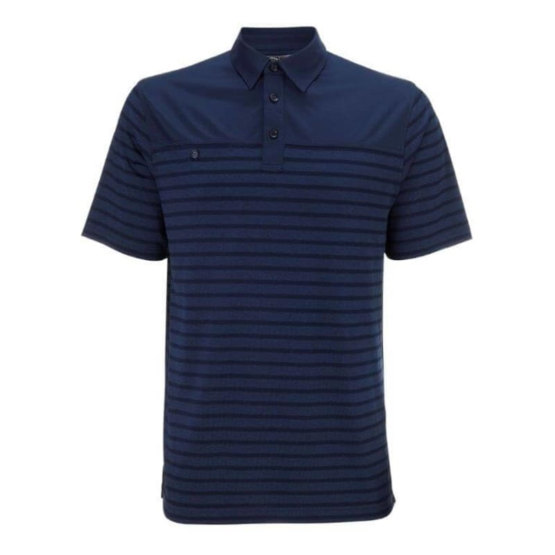Callaway Agnar Polo Nautical Stripe - Navy