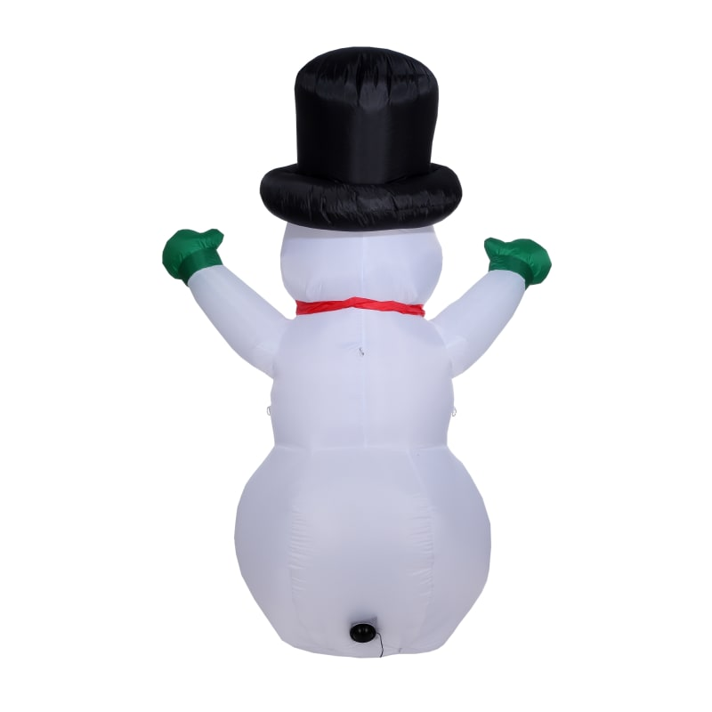 Homegear Christmas 6ft Inflatable Snowman For Indoor/Outdoor Use with LED Lights #3