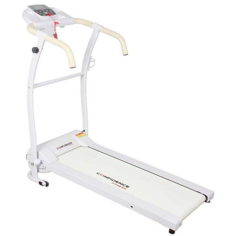 EX-DEMO Confidence Fitness TP-1 Electric Treadmill Folding Motorised Running Machine - White