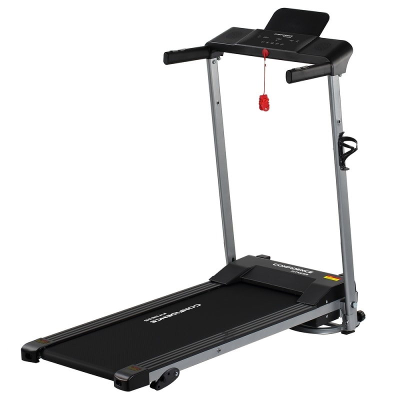 Confidence Fitness Ultra Treadmill Electric Motorized Running Machine Black #1