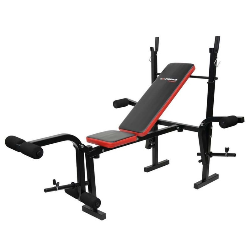 Open box confidence fitness home gym multi use weight bench v