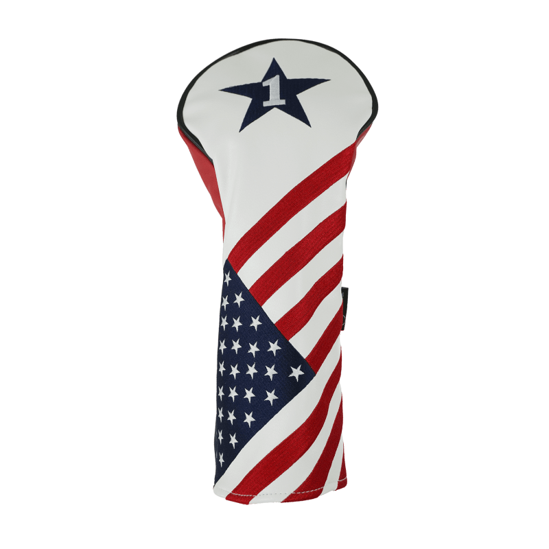 Ram Golf USA Stars and Stripes PU Leather Headcover - Driver #1