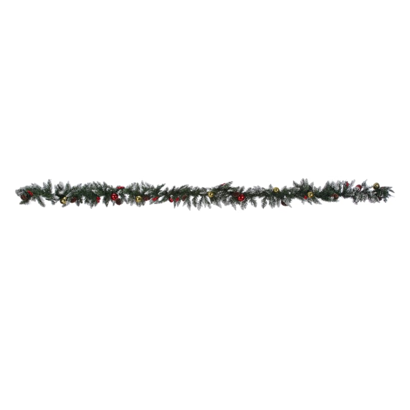 Homegear 9ft Decorated Christmas Garland #1