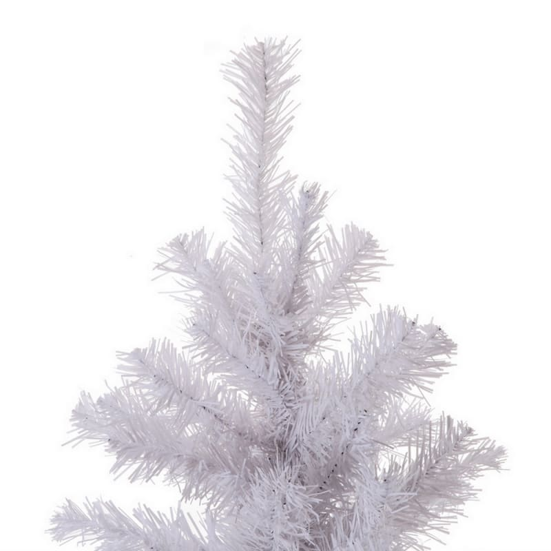 Homegear 6FT Artificial White Christmas Tree #3