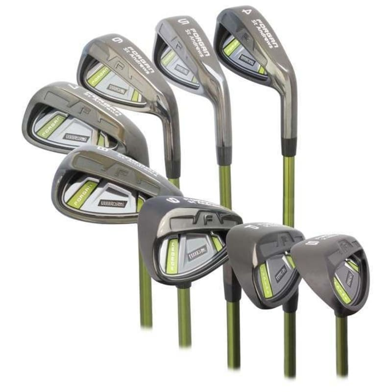 Forgan of St Andrews IWD2 Black Iron 4-SW Left Hand Set - Graphite Shaft and Regular Flex #