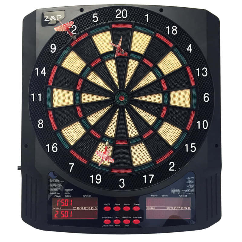 ZAAP Pro Electronic Soft Tip Darts Board Game #1