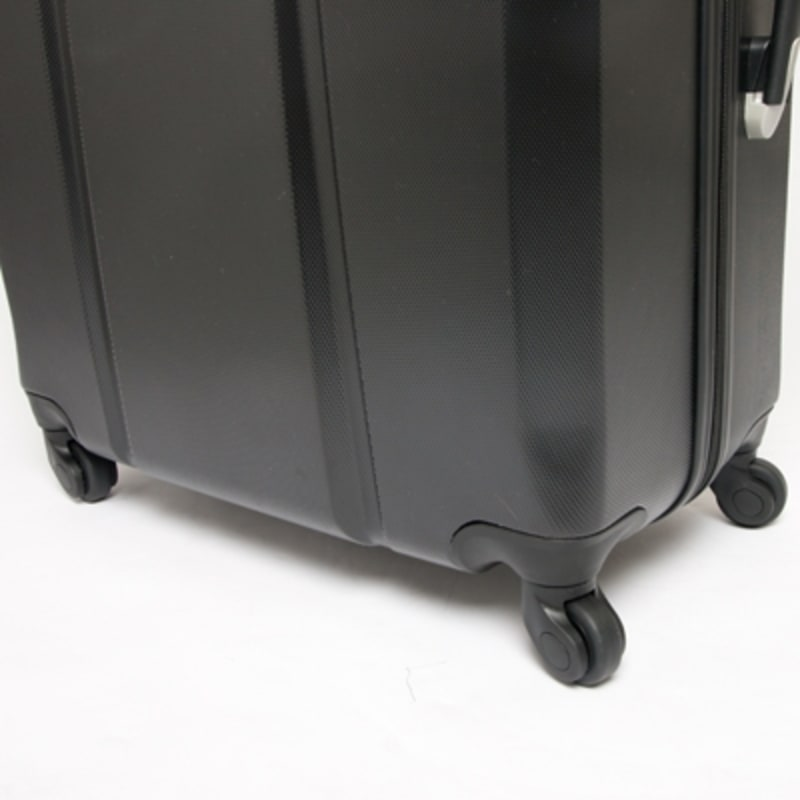"OPEN BOX Swiss Case Diamond Black 28"" 2 PC Spinner Luggage #4"