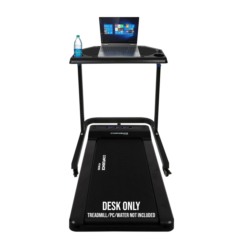 Confidence Fitness Adjustable Height Treadmill Desk - Walk/Stand While You Work! #2