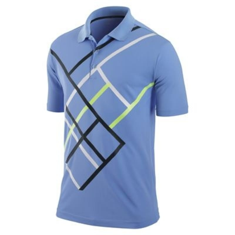 Nike Mens Hyper Plaid Polo