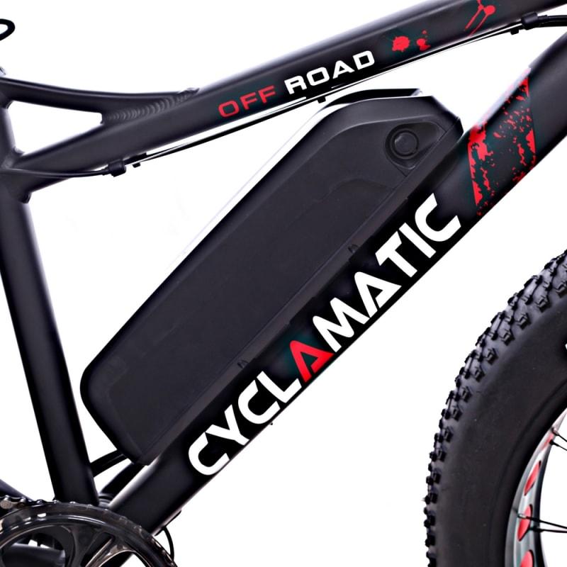 Cyclamatic Fat Tire Electric Mountain Bike / eBike #4
