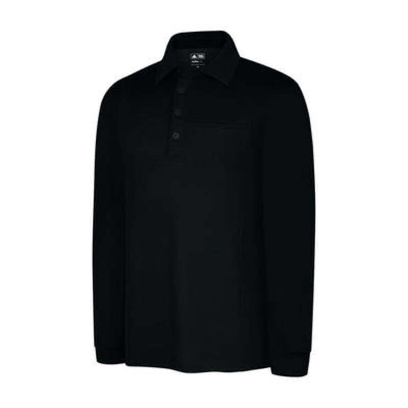 Adidas ClimaLite Warm Long Sleeve Pocket Polo