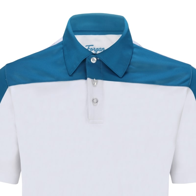 Forgan of St Andrews Block Panel Premium Golf Polo Shirts 3 Pack - Mens #2