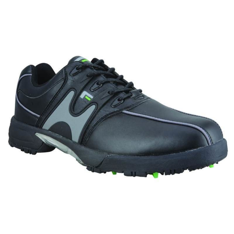 Forgan Mens Waterproof Golf Shoes - Black