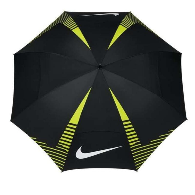 "Nike 62"" Windsheet Lite Umbrella - Black/Volt"