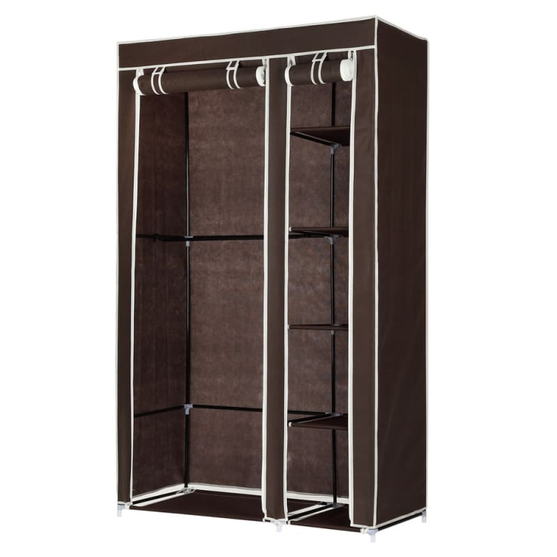 Homegear Double Fabric Portable Wardrobe Closet #1