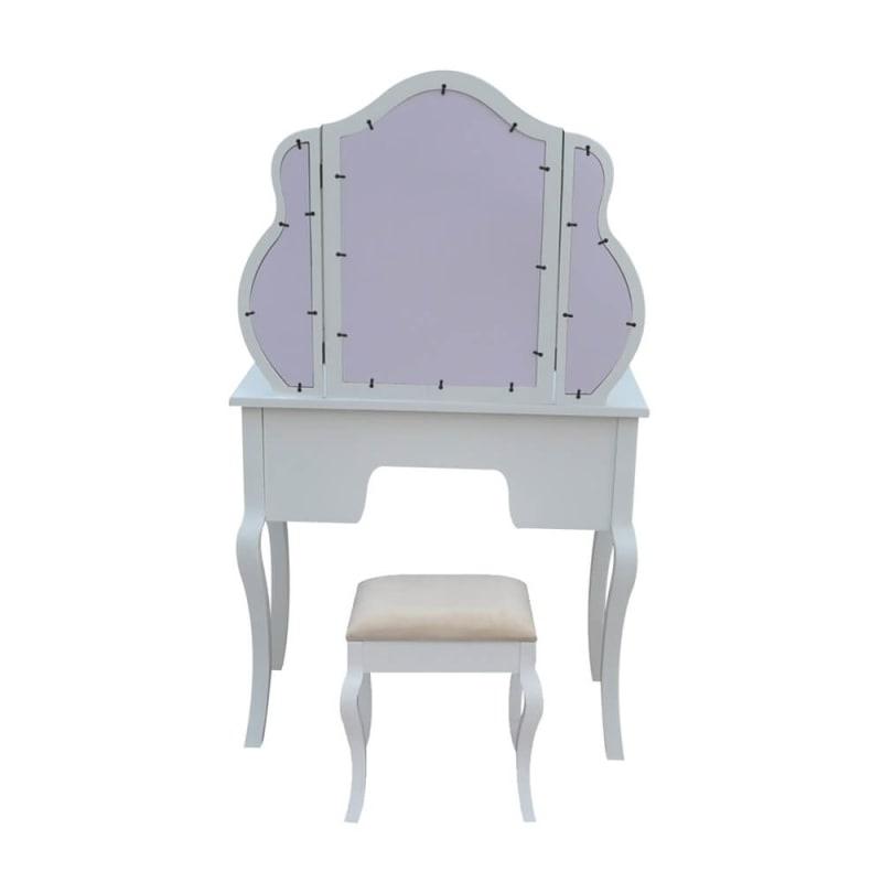 Homegear Venetian Dressing Table & Stool Back