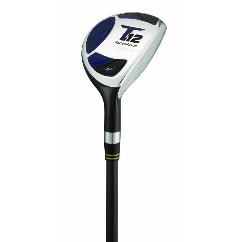 Lind Golf T12 Hybrid Rescue Wood - Senior Flex - Lefty #