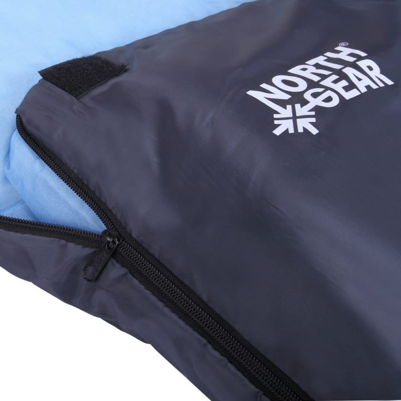 North Gear Camping Double Sleeping Bag With Pillows #3