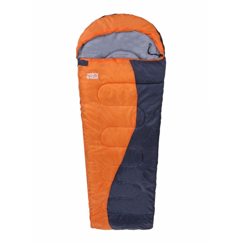 North Gear Camping Envelope Sleeping Bag With Hood #1