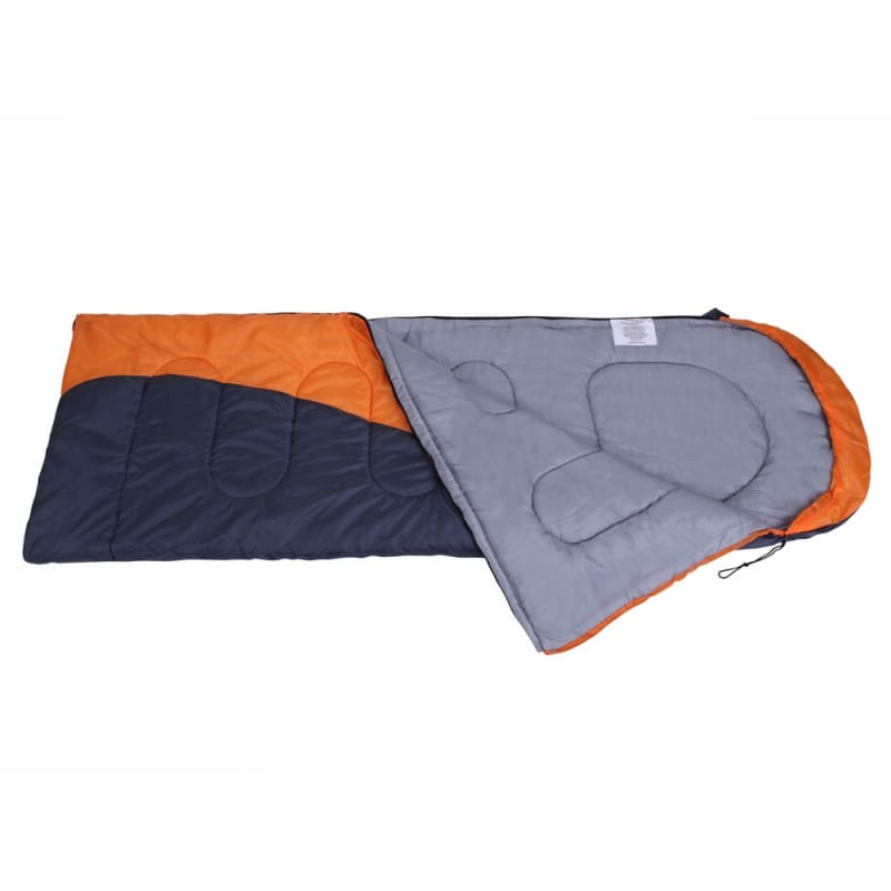 North Gear Camping Envelope Sleeping Bag With Hood #2
