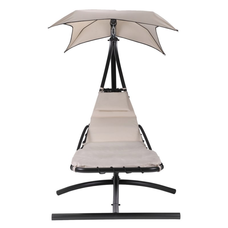 Palm Springs Outdoor Hanging Chair Recliner Cream
