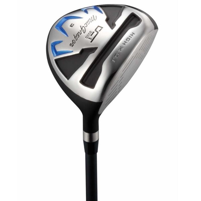 MacGregor Golf DCT3000 Premium Mens +1 inch Golf Clubs Set, Graphite/Steel, Right Hand, Cart Bag #2