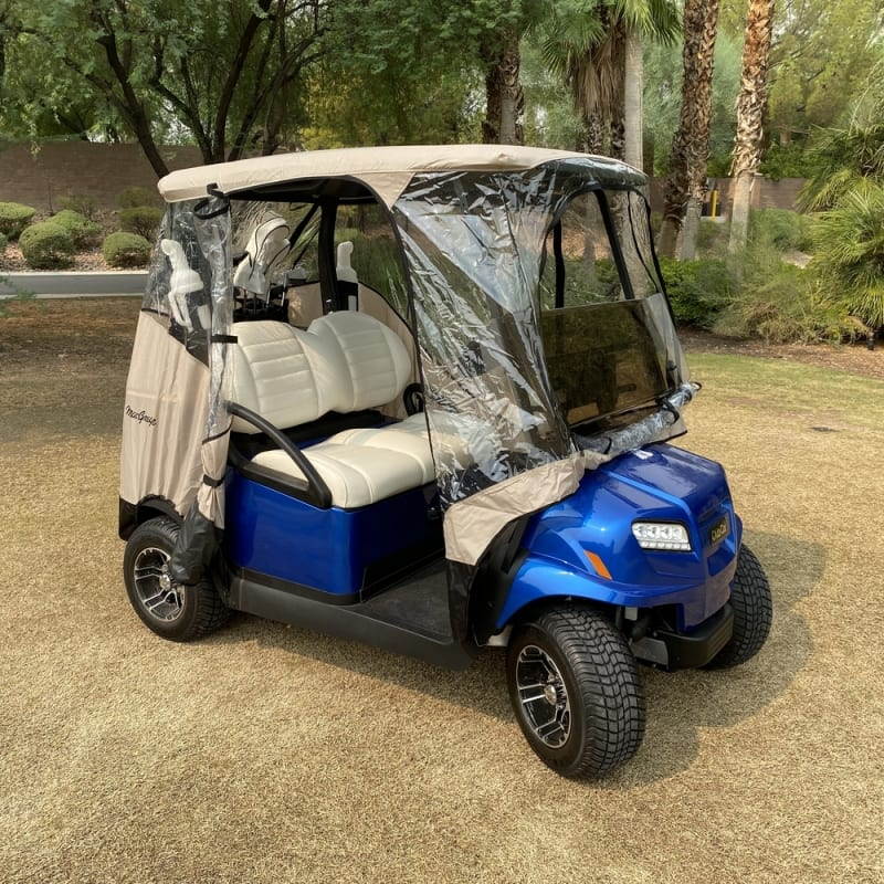 MacGregor Golf Cart Cover / Enclosure with Zippered Doors, Front and Rear #3