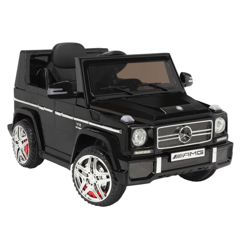 Mercedes by ZAAP G65 12v Ride On Kids Electric Battery Toy Car Black